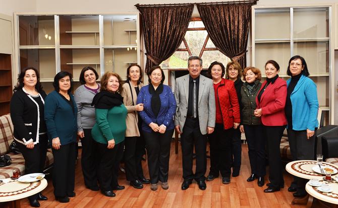 Başkan Poyraz 'In Veda Ziyaretleri Sürüyor