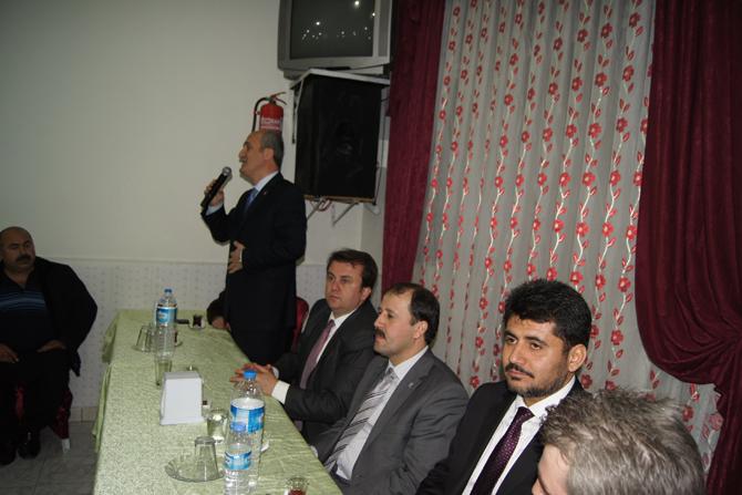 """AK Parti Dulkadiroğlu Adayı Necati Okay """"Üçelle hizmet edeceğiz"""""""