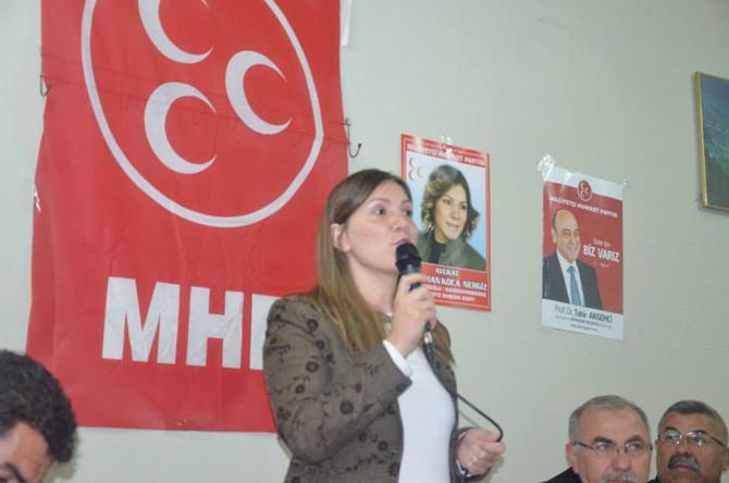 MHP'li Nergiz; Dulkadiroğlu İlçemiz Hizmette Çağ Atlayacak