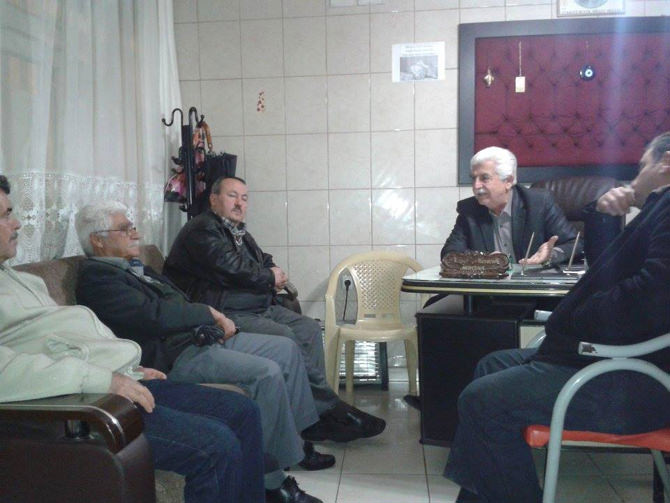 Yusuflar Mahallesi'nden Nazif Mencik'e Sevgi Seli