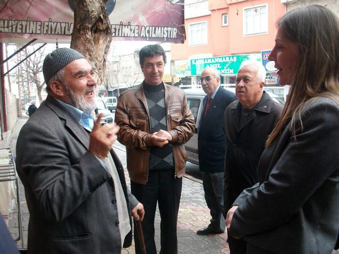 """Neslihan Koca Nergiz; Vatandaş artık """"MHP"""" diyor"""