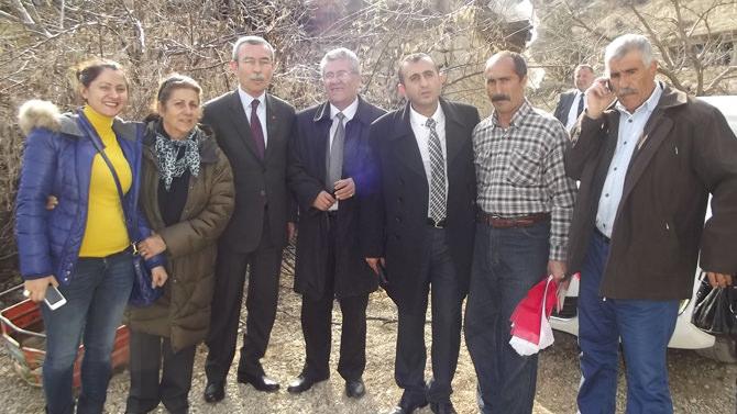 CHP'li Ünal Ateş'in Tekir Döngel Ziyareti
