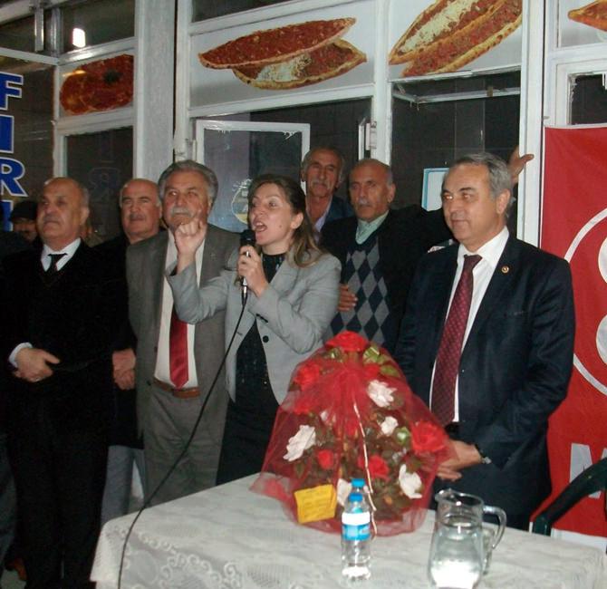 Namık Kemal Mahallesi'nde MHP Coşkusu