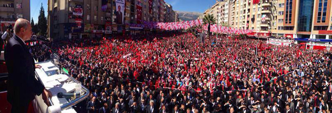 Milliyetçi Hareket Partisi Genel Başkanı Bahçeli, Kahramanmaraş'ta