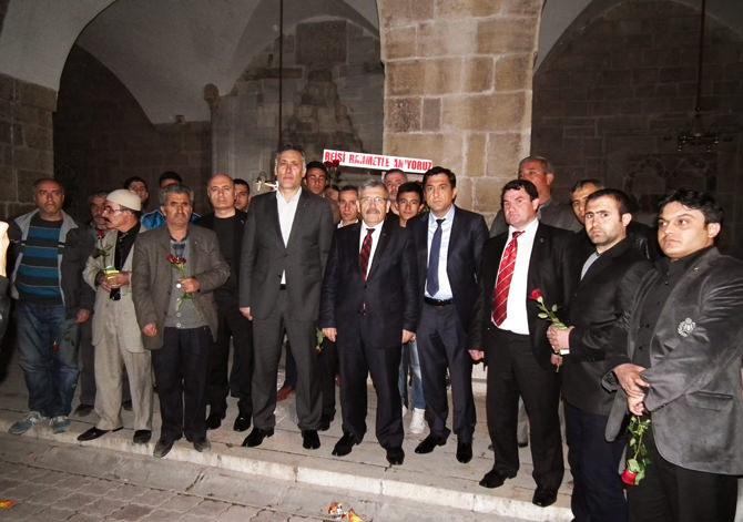 Şehit lider Muhsin Yazıcıoğlu İçin Mevlid Okutuldu!