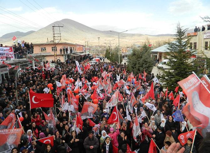Ekinözü'de AK Partiden Ayrılıp CHP'ye katıldılar