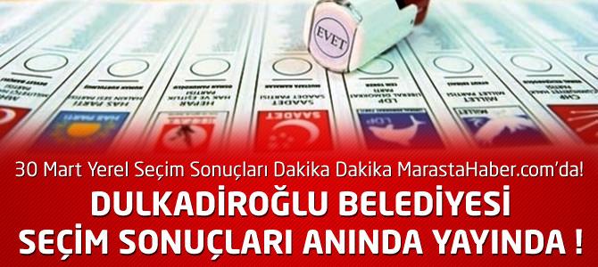 Kahramanmaraş Dulkadiroğlu Belediyesi 30 Mart Yerel Seçim Sonuçları