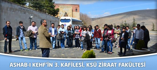 Ashab-ı Kehf'in 3. Kafilesi, KSÜ Ziraat Fakültesi