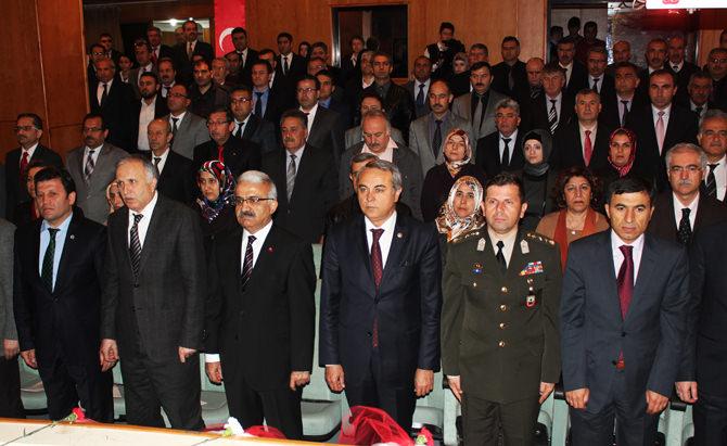 12 Mart İstiklal Marşının kabulünün 93. yıldönümü kutlandı