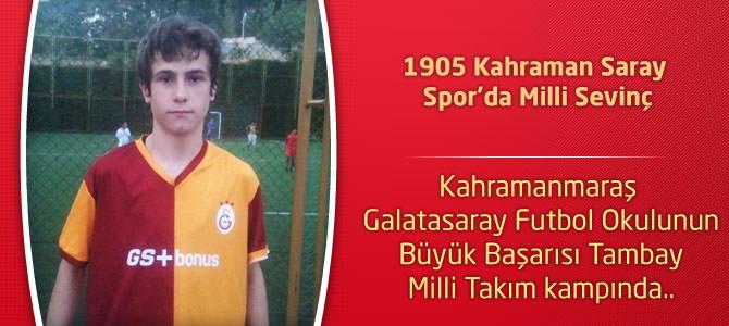 1905 Kahraman Saray Spor'da Milli Sevinç