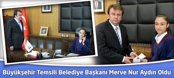 Kahramanmaraş Büyükşehir Temsili Belediye Başkanı Merve Nur Aydın Oldu