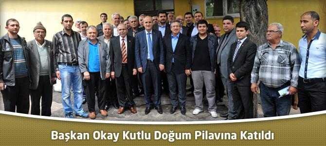 Dulkadiroğlu Belediye Başkanı Okay Kutlu Doğum Pilavına Katıldı