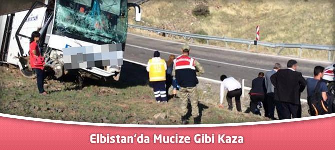 Elbistan'da Mucize Gibi Kaza