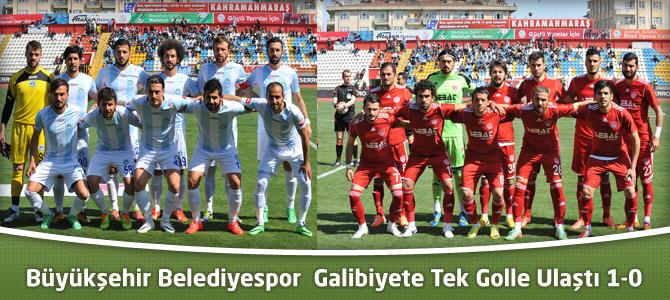 Büyükşehir Belediyespor Galibiyete Tek Golle Ulaştı 1-0