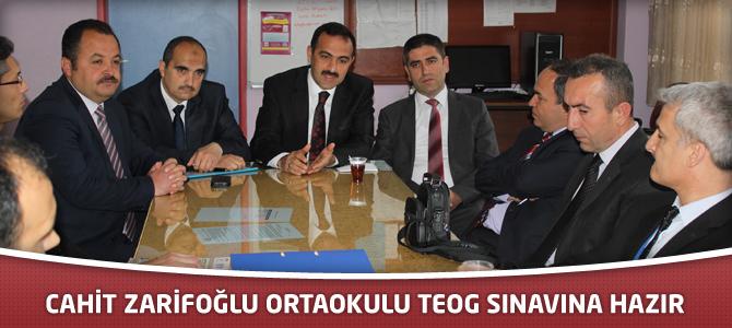 Cahit Zarifoğlu Ortaokulu TEOG Sınavına Hazır