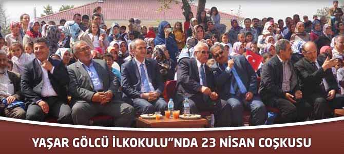 """Yaşar Gölcü İlkokulu""""nda 23 Nisan Coşkusu"""