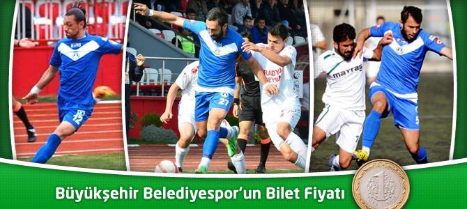 Kahramanmaraş Büyükşehir Belediyespor'un Bilet Fiyatı 1 TL Oldu