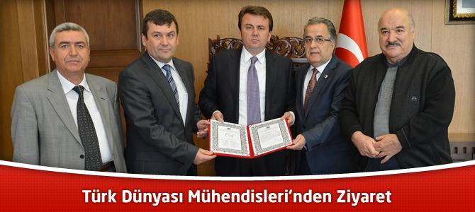 Türk Dünyası Mühendisleri'nden Ziyaret