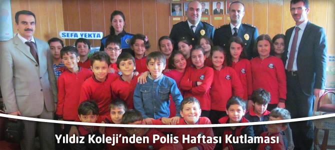 Yıldız Koleji'nden Polis Haftası Kutlaması