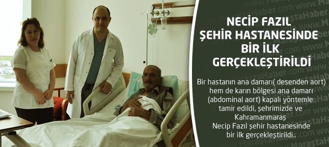 Kahramanmaraş Necip Fazıl Şehir Hastanesinde Bir İlk Gerçekleştirildi