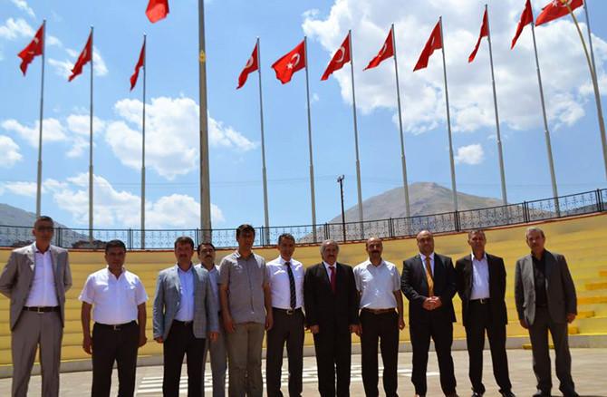 Türkoğlu'ndan Elbistan'a Dost Ziyareti