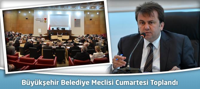 Kahramanmaraş Büyükşehir Belediye Meclisi Cumartesi Toplandı