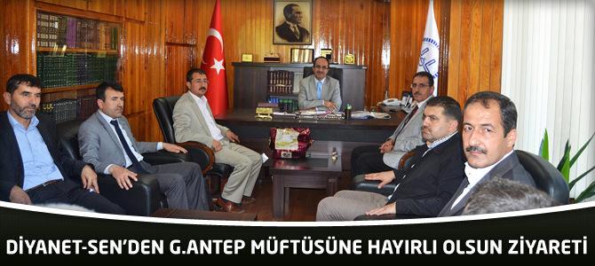DİYANET-SEN'den Gaziantep müftüsüne hayırlı olsun ziyareti
