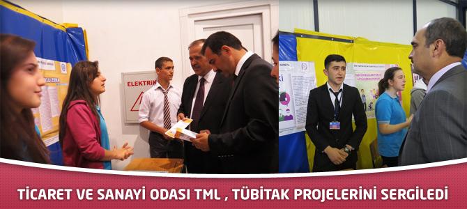 Ticaret Ve Sanayi Odası TML , TÜBİTAK Projelerini Sergiledi