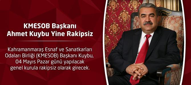 KMESOB Başkanı Ahmet Kuybu Yine Rakipsiz
