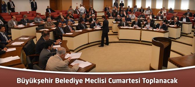 Kahramanmaraş Büyükşehir Belediye Meclisi Cumartesi Toplanacak