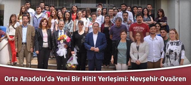 Orta Anadolu'da Yeni Bir Hitit Yerleşimi: Nevşehir-Ovaören