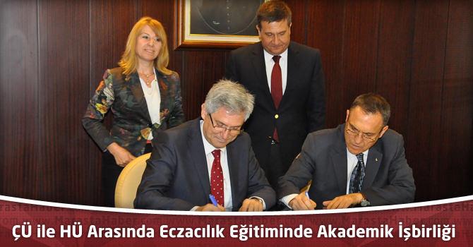 ÇÜ ile HÜ Arasında Eczacılık Eğitiminde Akademik İşbirliği Protokolü İmzalandı
