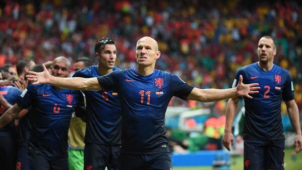 İspanya - Hollanda dünya kupası