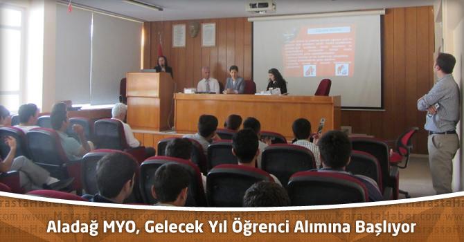 Çukurova Üniversitesi Aladağ MYO, Gelecek Yıl Öğrenci Alımına Başlıyor