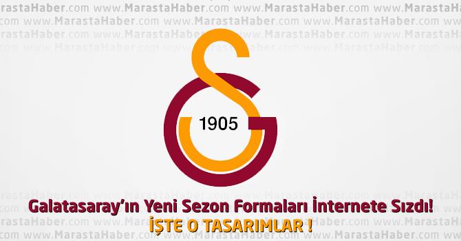 Galatasaray'ın Yeni Sezon Formaları İnternete Sızdı! İşte O Formalar