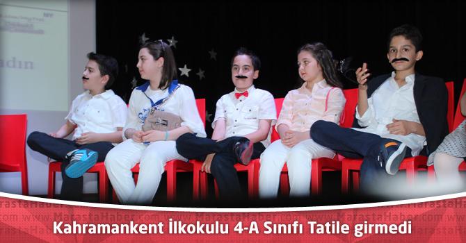Özel Kahramankent İlkokulu 4-A Sınıfı Tatile Henüz Girmedi