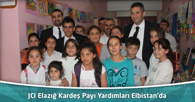 JCI Elazığ Kardeş Payı Yardımları Elbistan'da