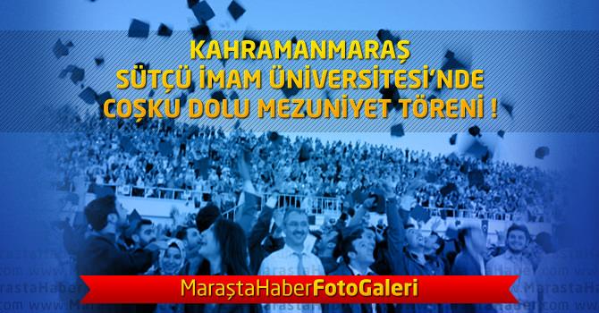 KSÜ'de Mezuniyet Coşkusu – 2014 Mezuniyet Töreni Foto Galeri