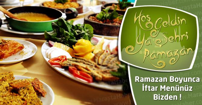 12 Temmuz 2014 – Ramazan'ın 15. Gününe Özel İftar Menüsü Yemek Tarifi