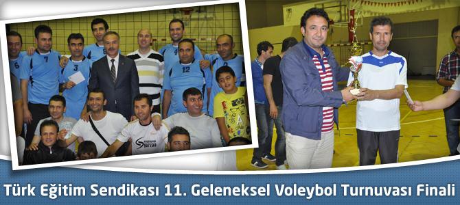 Türk Eğitim Sendikası 11. Geleneksel Voleybol Turnuvası Finali
