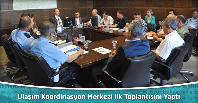 Kahramanmaraş Büyükşehir Belediyesi UKOME İlk Toplantısını Yaptı