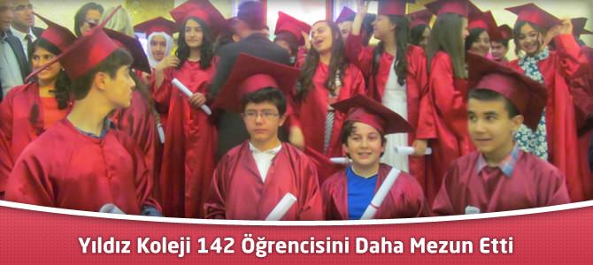 Yıldız Koleji 142 Öğrencisini Daha Mezun Etti