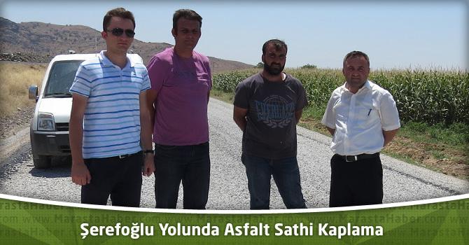 Kahramanmaraş – Şerefoğlu Yolunda Asfalt Sathi Kaplama