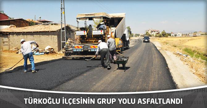 Türkoğlu İlçesinin Grup Yolu Asfaltlandı