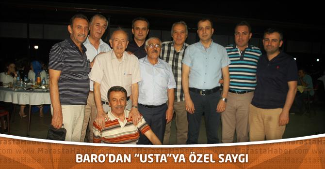 """Baro'dan """"Usta""""Ya Özel Saygı"""
