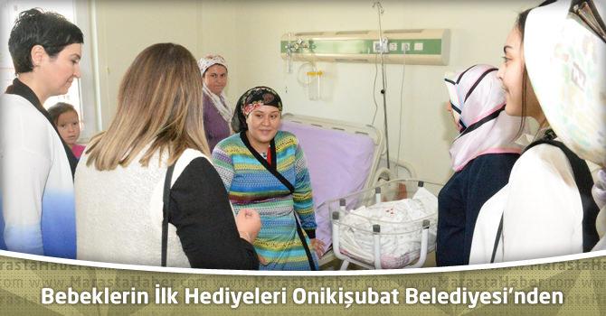 Yeni Doğan Bebeklerin İlk Hediyeleri Onikişubat Belediyesi'nden