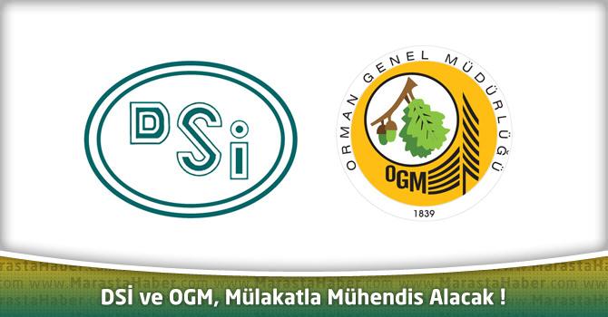 DSİ ve OGM, KPSS'siz Mülakatla Mühendis Alacak !
