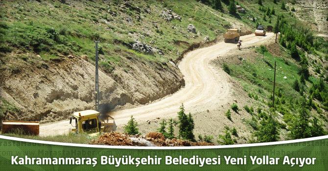 Kahramanmaraş Büyükşehir Belediyesi Yeni Yollar Açıyor
