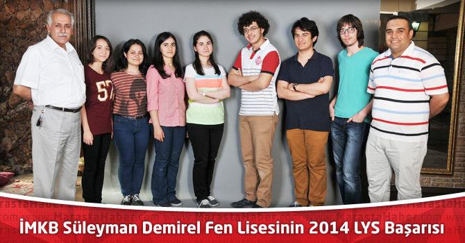İMKB Süleyman Demirel Fen Lisesinden 43 öğrenci Tıp Fakültesini kazandı
