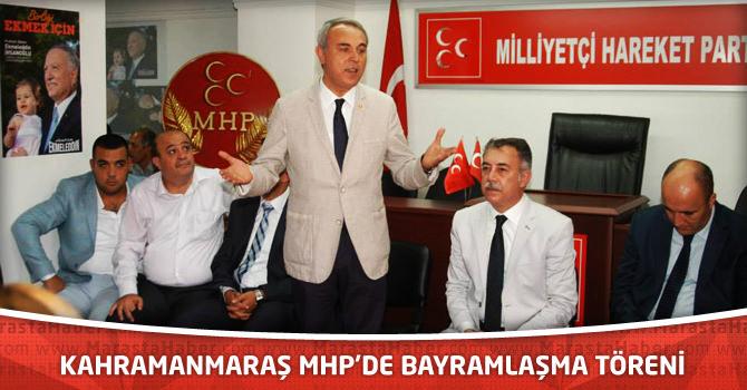Kahramanmaraş MHP'de Bayramlaşma Töreni